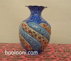 گلدان میناخمره ای (ارتفاع 15سانت)