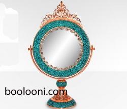 آینه گردفیروزه کوب