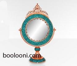 آینه گردفیروزه کوب62سانتی